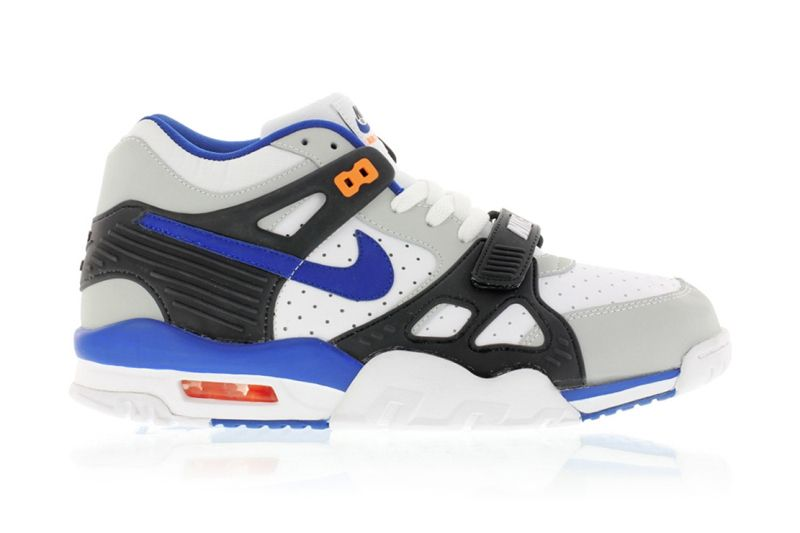 detailed look new release best website Nike Air Trainer 3 Pure Platinum/Lyn Blue-Black-Total Orange ...