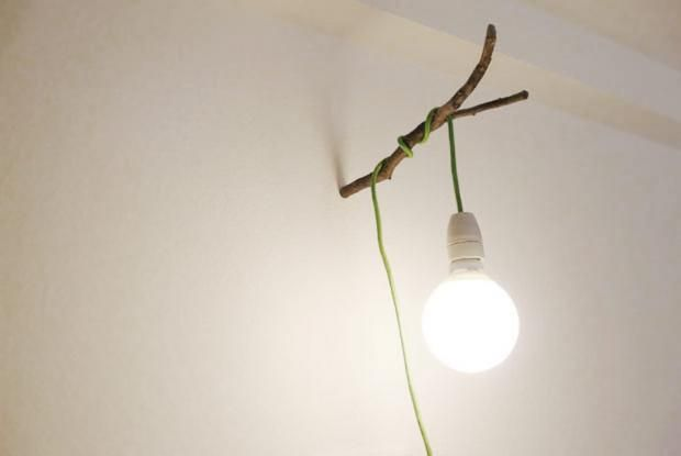 Leuchten mit Textilkabel - 15 Praxistipps Einfach selber machen - garderobe selber bauen schner wohnen