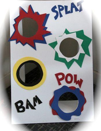Superhero Birthday Party Game Ideas Super Hero Bean Bag