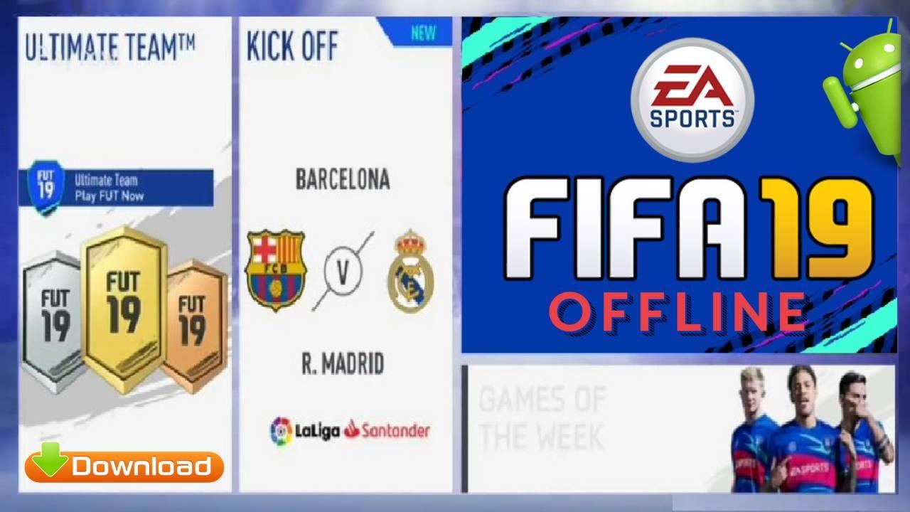 Fifa 19 Mobile Offline Android Mod Apk Obb Data Download Com Imagens