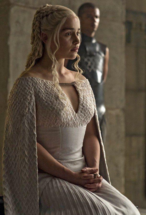 daenerys white dress Recherche Google Game of thrones
