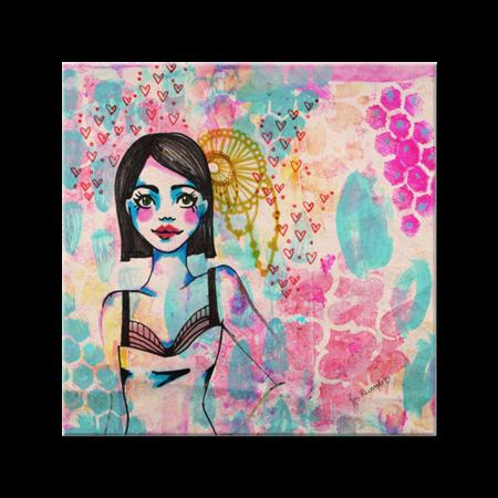 Azulejo Girlie. de @jurumple | Colab55