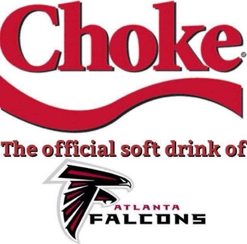 Atlanta Falcons Choke Memes Nflonnbc Funny Football Memes Nfl Funny Sports Memes
