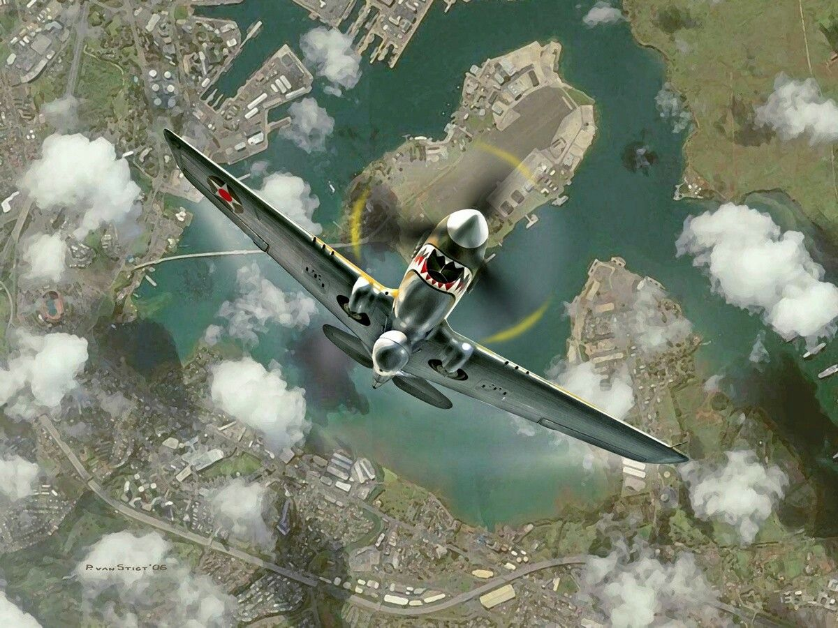 American P-40 Warhawk