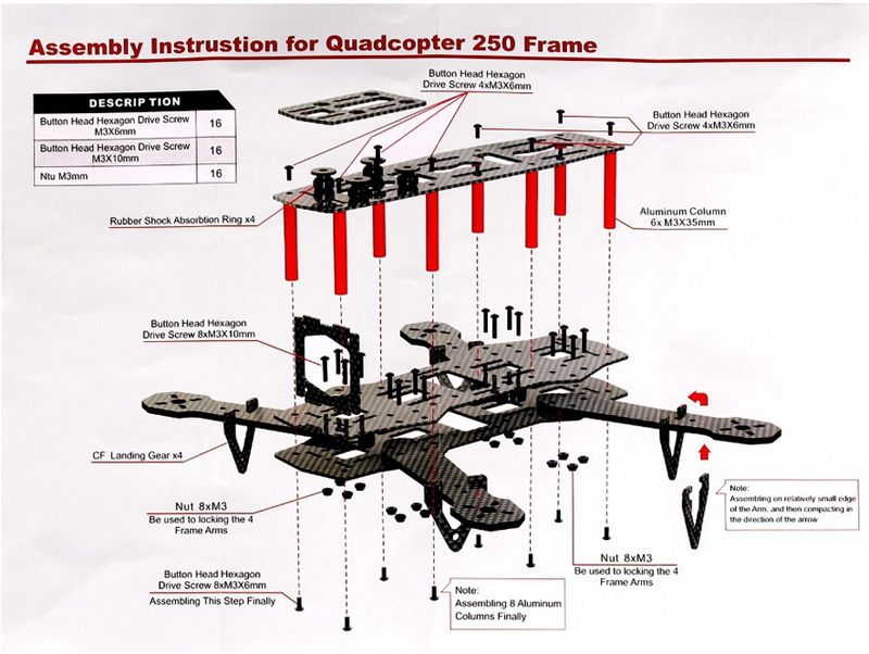 Rc quadcopter potensic upgraded udi 818a hd 24ghz ch 6 axis gyro zmr250 frameg cheapraybanclubmaster Gallery