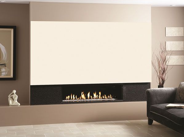 Studio Edge The Gas Fire Provides Minimalist Modern Perfection With An Eye