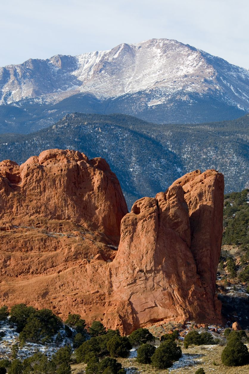 A Beautiful Capture Of Pikes Peak America S Favorite Mountain Located Near Colorado Springs And Garden O With Images Pikes Peak Colorado Photography Pikes Peak Colorado