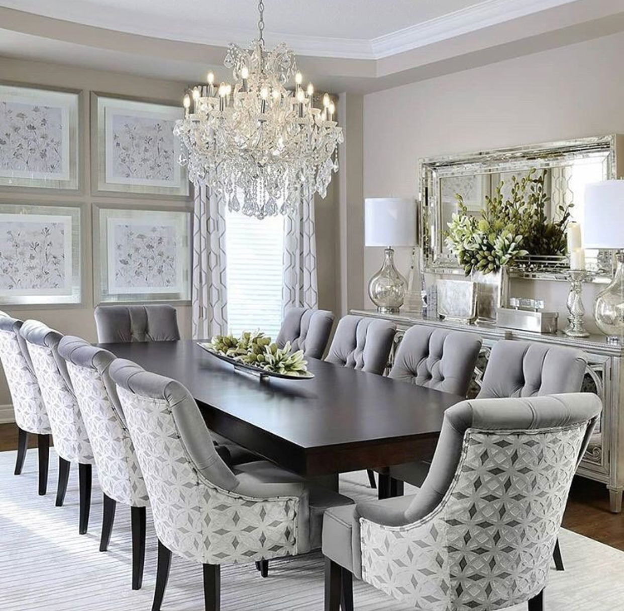 Formal dining room design ideas  Pin by Angelica Elizabeth on Decoración  Pinterest  Dining room