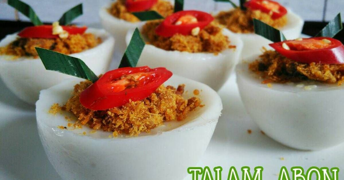 Resep Talam Abon Oleh Dhiah Oddie Resep Resep Makanan Resep Makanan