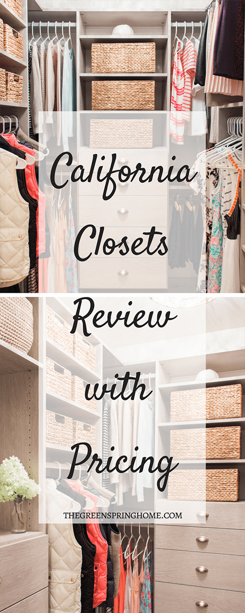 California Closets Review With Pricing Including Before And After Photos | California  Closets Master Walk In
