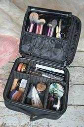 Reise Makeup Bag Essentials Schönheit Mit Lily # Hautpflege # Haut #ClearSki ... #facecare