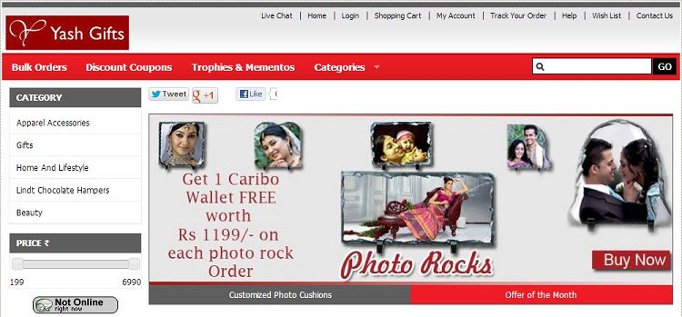 Store of the day: http://www.yashgifts.in  (Category: Gifting) Know More: http://on.fb.me/Y8lqGG