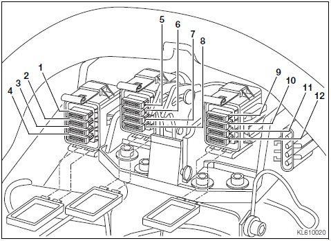 Bmw k1200lt electrical wiring diagram #3 | k1200lt