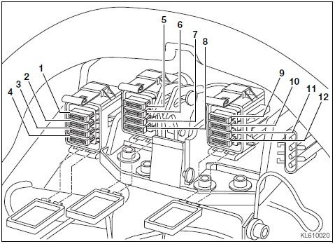 honda goldwing 1200 wiring diagram mazda 6 2009 bmw k1200lt electrical #3 | pinterest diagram, ...
