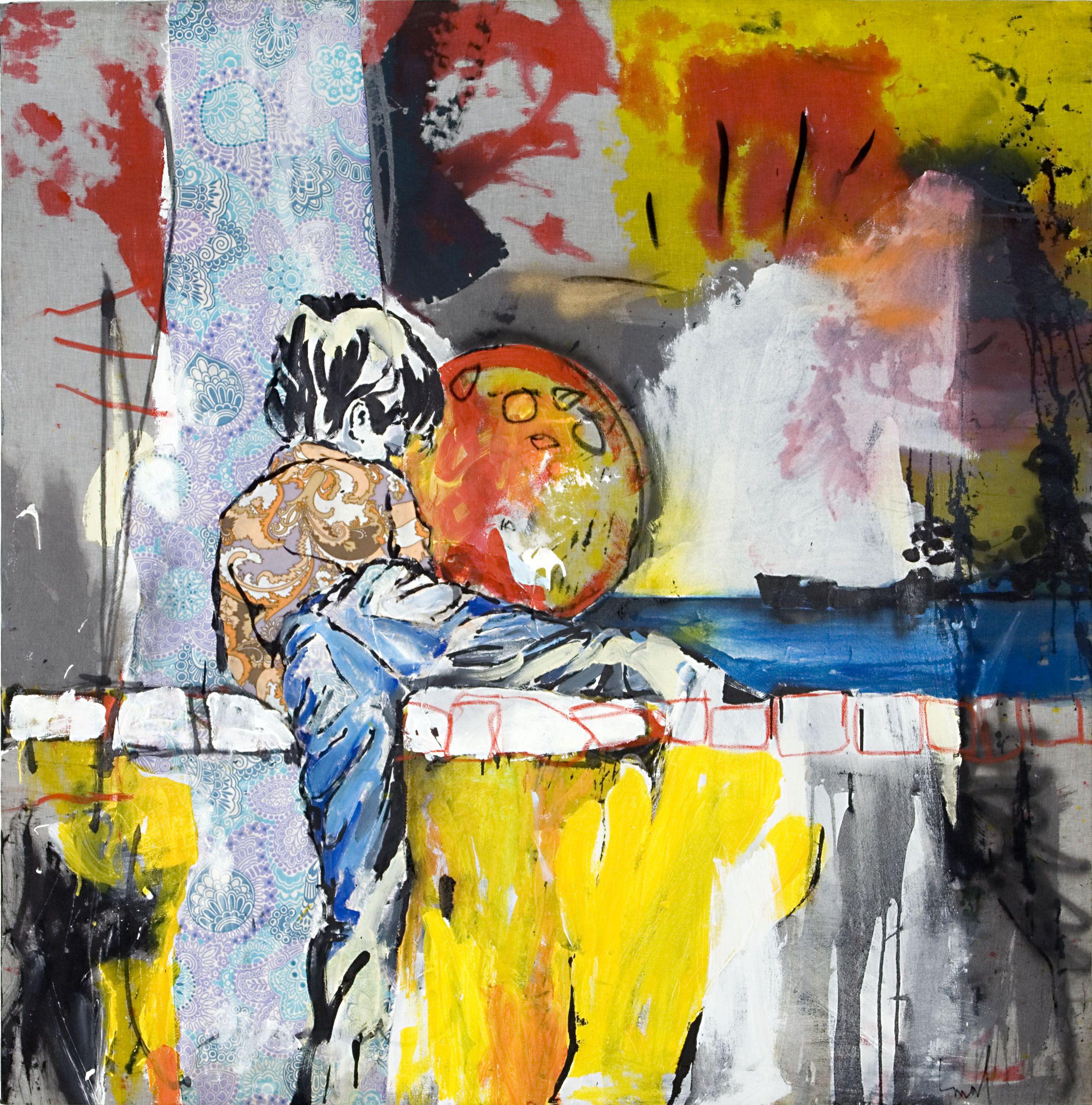 """Christophe Malfliet : Vrolijke vrienden - """"Happy together""""/ Dagmar de Pooter Gallery Antwerp (B) 2006"""