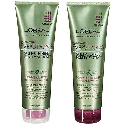 Loreals sulfate free shampoos are awesome especially if your