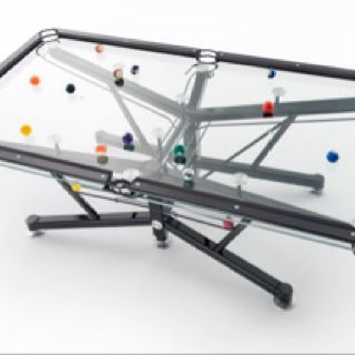 Nottage Design Has Patented Their Very Own Glass Top, Pool Table, Perfect  For The Modern Game Room. The Playing Area Is Composed Of The Patented  Vitrik .