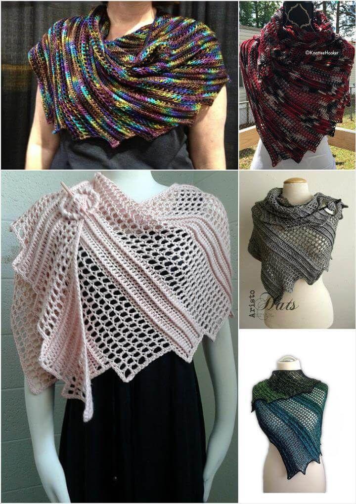 10 Free Crochet Shawl Patterns For Womens Pinterest Easy
