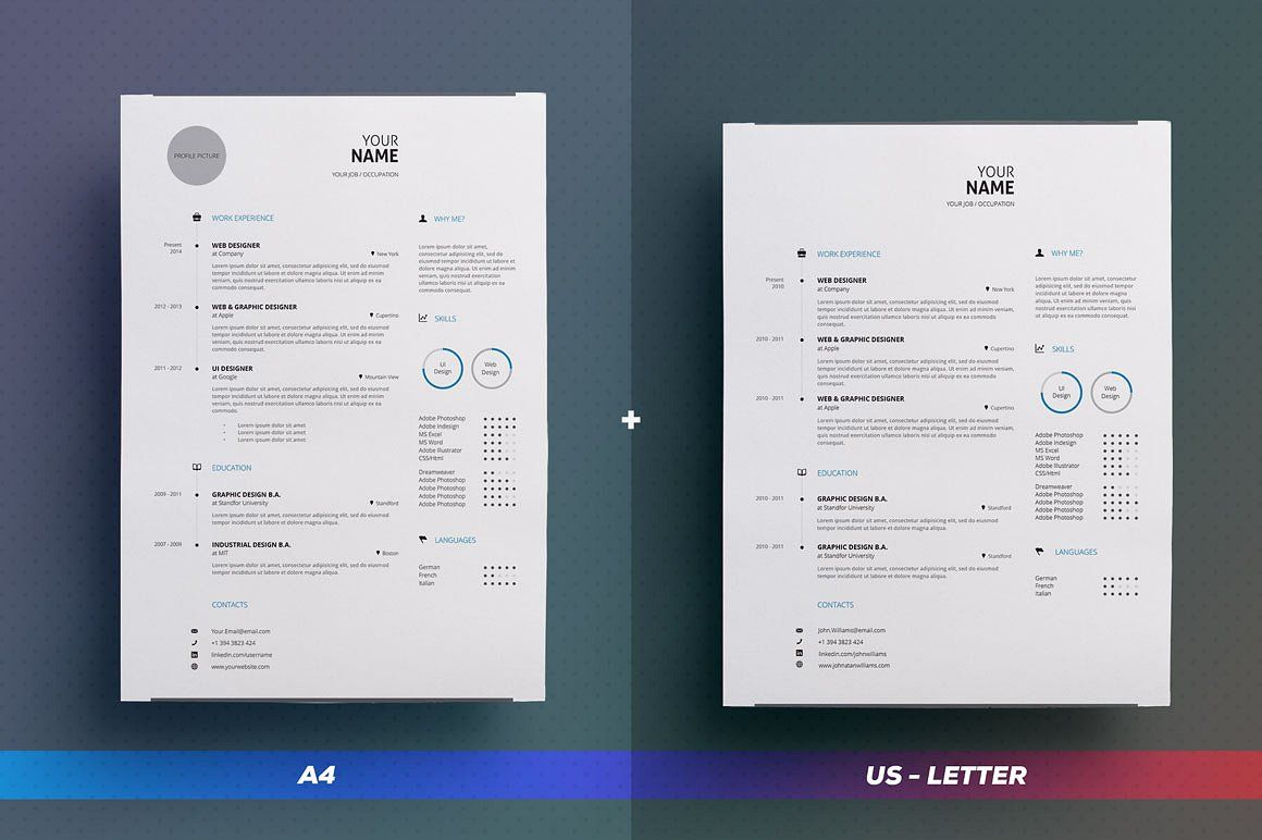 Resume cv simple collection n1 by theresumecreator on resume cv simple collection n1 by theresumecreator on creativemarket theresumecreator job yelopaper Images