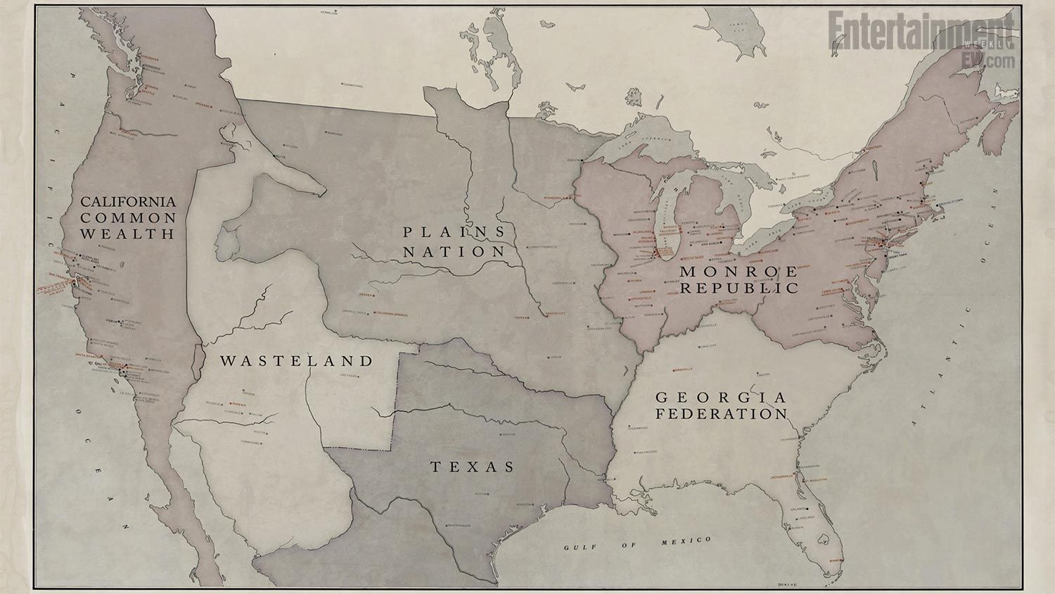 Show The Map Of America.Revolution Check Out A Map Of North America 15 Years After The