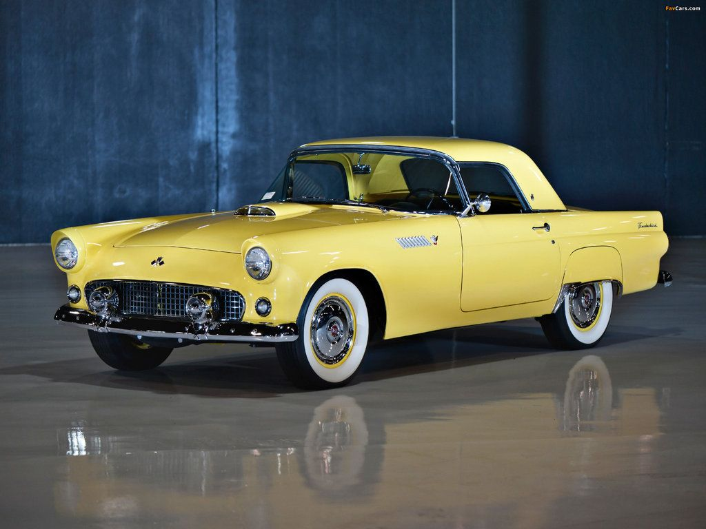 1955 Ford Thunderbird The Game Changer 14 By Drewhammond On Deviantart Ford Thunderbird Ford Thunderbird 1955 1955 Ford