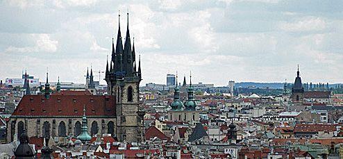 tel de torens in Praag