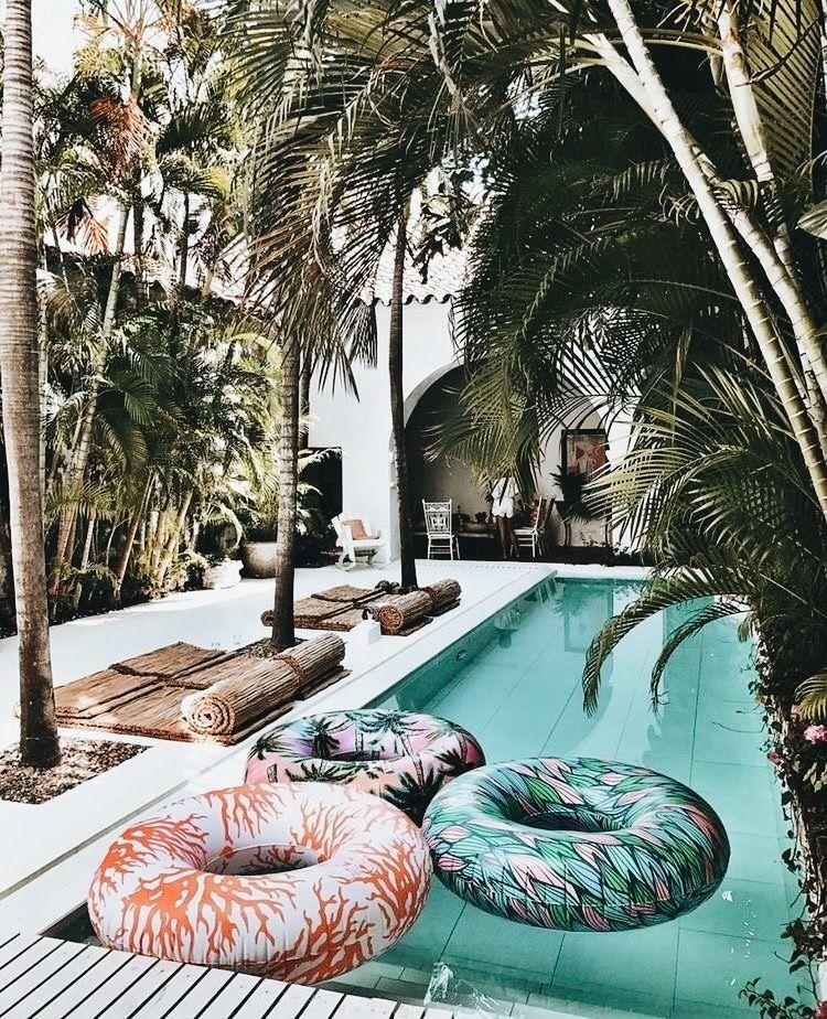 Pin by KAINZOW on POOLS Pinterest Summer, Wanderlust and Summer - amenagement bord de piscine