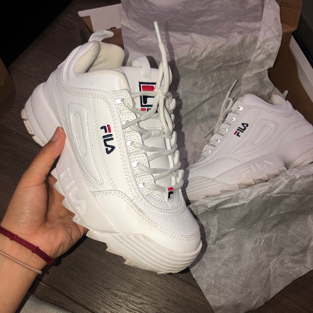 Fila Shoes | Fila Disruptor Ii | Color: White | Size: 6