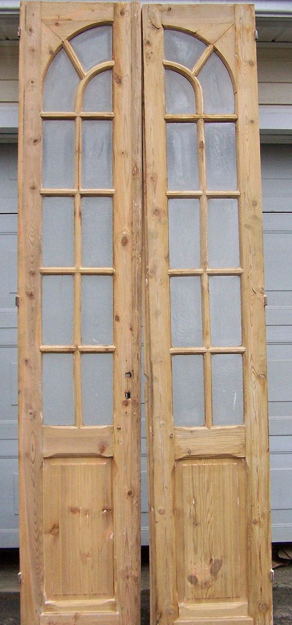 antique wood doors,curved glass panels,mediterranean salvage european doors,  old pine doors - Antique Wood Doors,curved Glass Panels,mediterranean Salvage