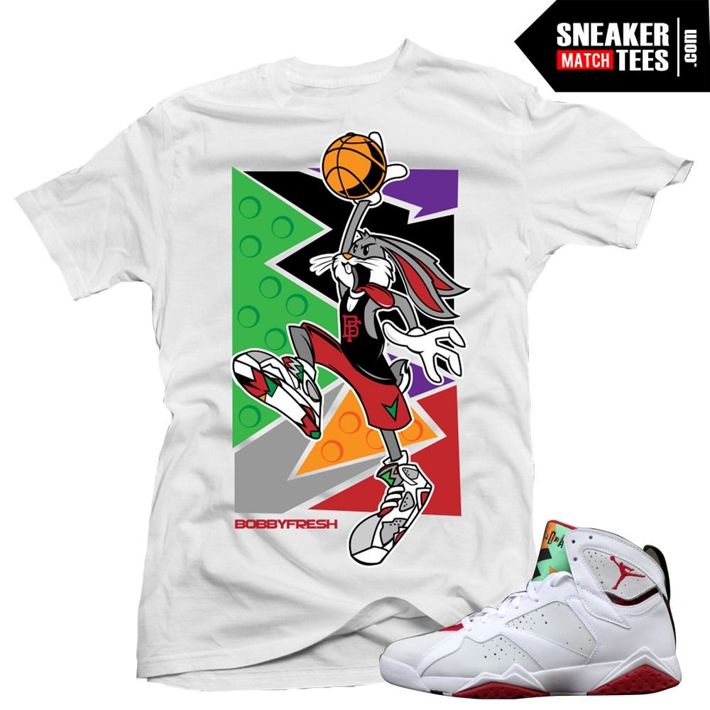 00d6ae2ba534a3 ... Hare-7s-shirts-to-match-Jordan-7-Hare-  Goonville Clothing ...