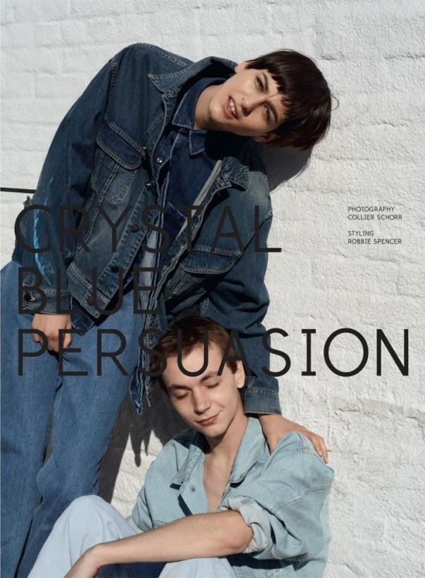 Dazed & Confused January 2013 Models: Athena Wilson and Yuri Pleskun Photographer: Collier Schorr Fashion Editor: Robbie Spencer