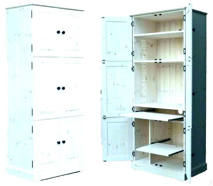 Hideaway Desks Home Office Oak White Hideaway Desk Cabinet