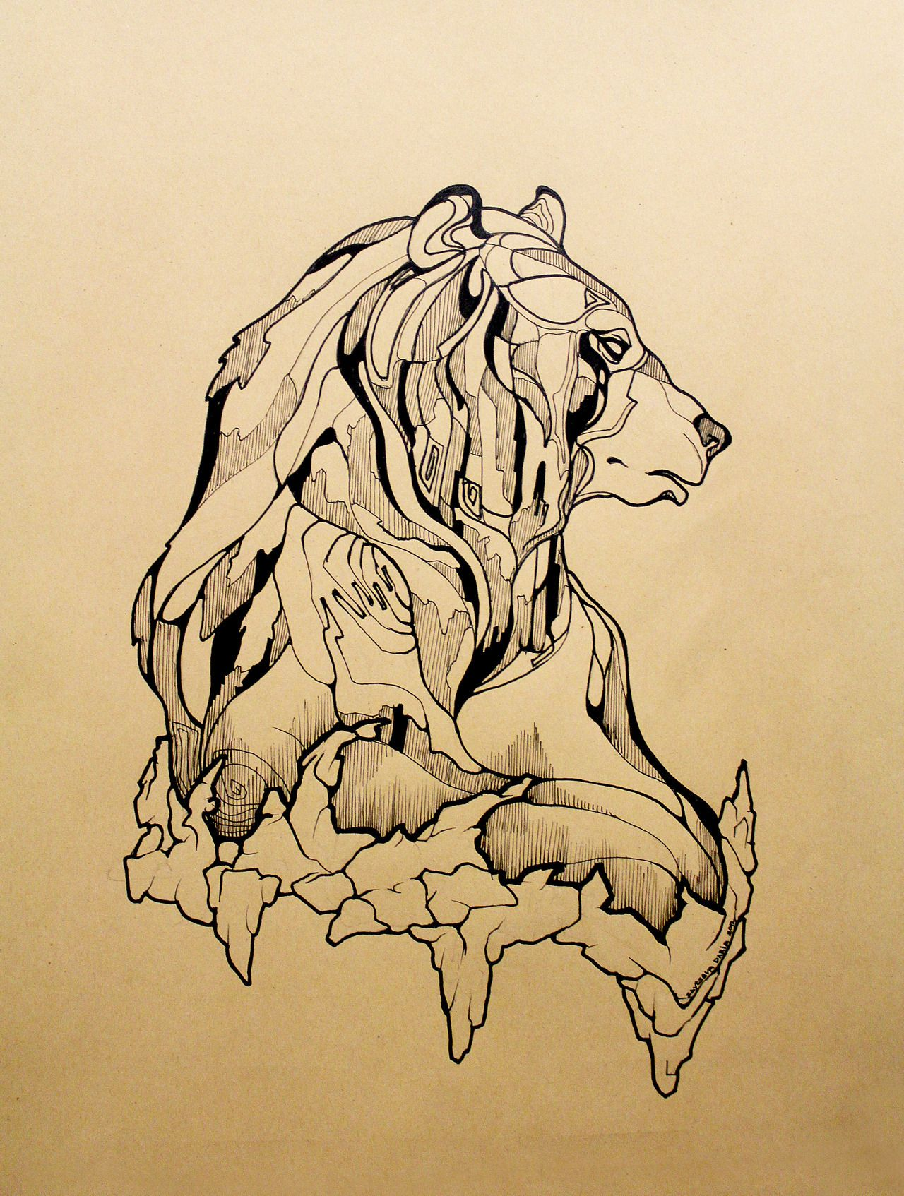 Bear tattoos, Bear art, Bear tattoo