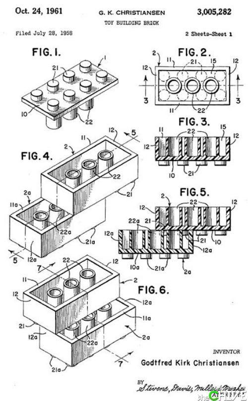 Lego Schematic Lego Patent Lego Art Lego