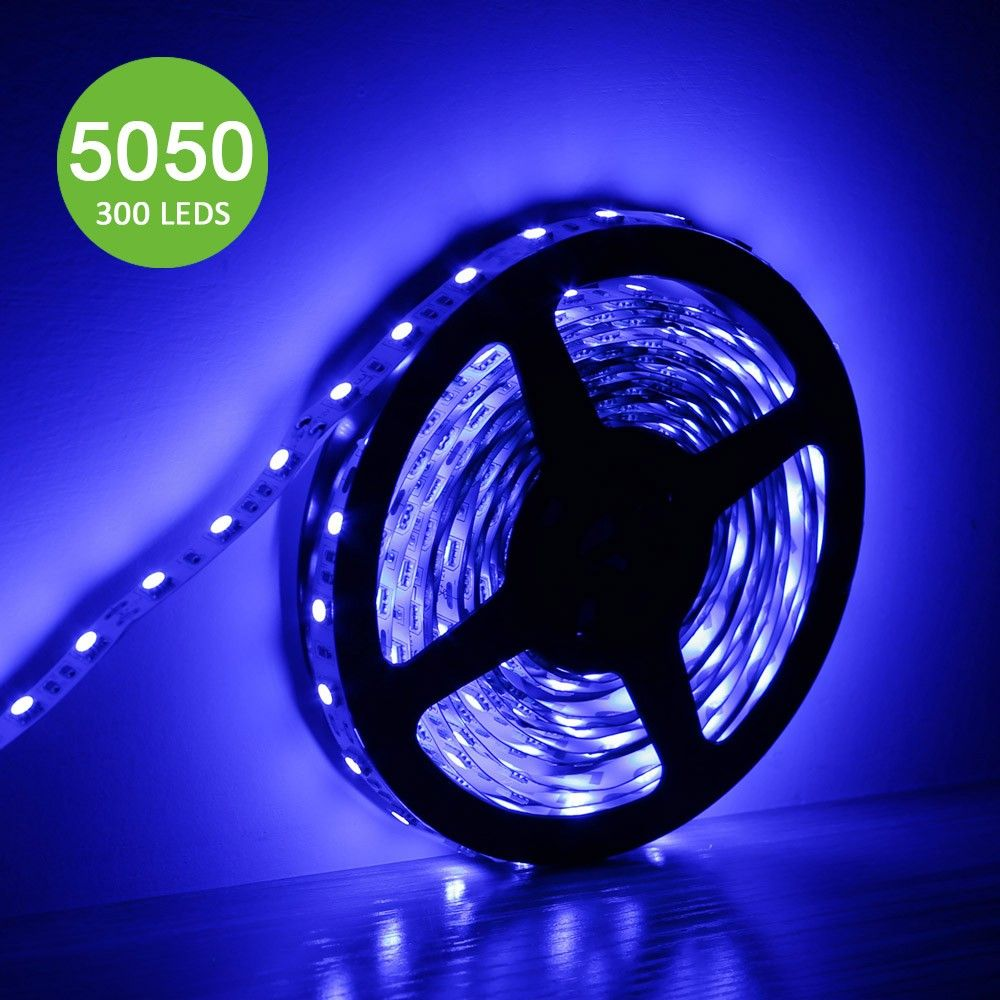 12v Flexible Led Strip Lights Blue Super Bright 300 Units 5050 Leds Flexible Led Strip Lights Led Strip