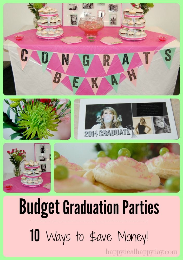Prime Budget Graduation Parties Grad Party Graduation Home Interior And Landscaping Sapresignezvosmurscom
