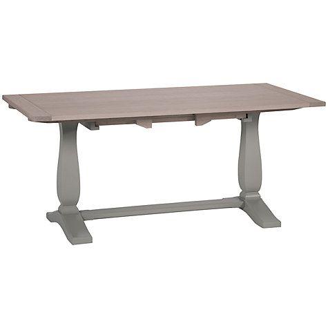 Buy Neptune Harrogate 170 260cm Extending Oak Dining Table Fog Online At Johnlewis