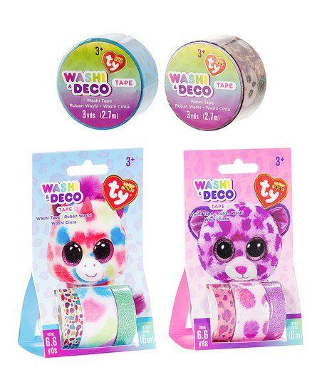018f3baaa0f Beanie Boos Leona Leopard Beanie Boo Washi Tape Set