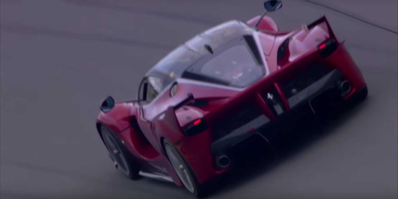The Ferrari FXX K Sounds Like a Screaming Demon #ferrarifxx
