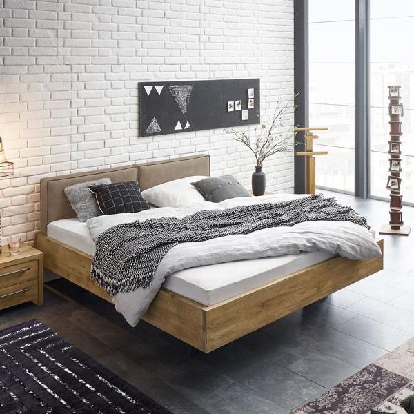 Rustikales Wildeiche Bett Massiv Gebaut Perugia Bett Holz Schlafzimmer Design Innenarchitektur