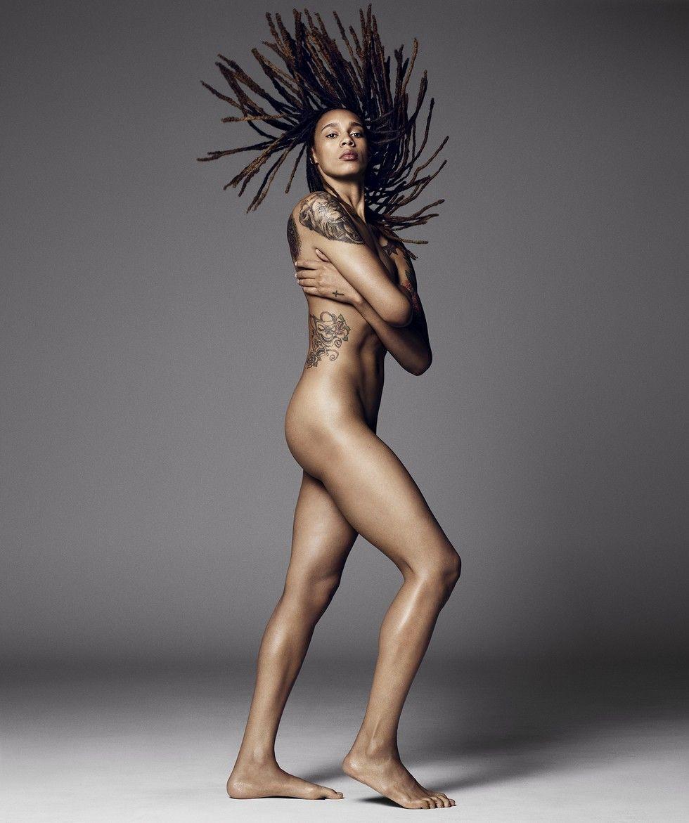 Female athlete nude photography