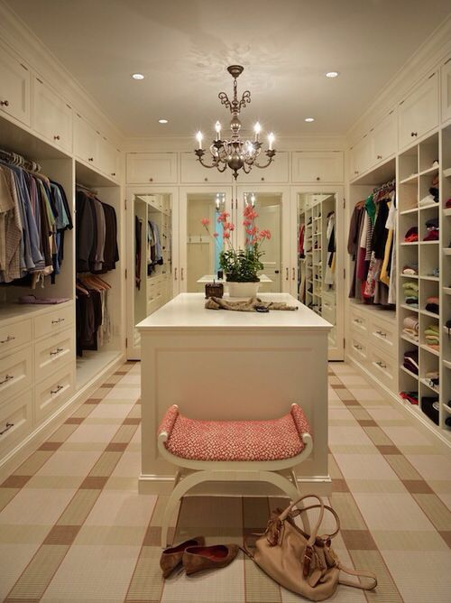 This Picture Is A Huge Walk In Closet And Something Would Probably Be For The Master Bedroom