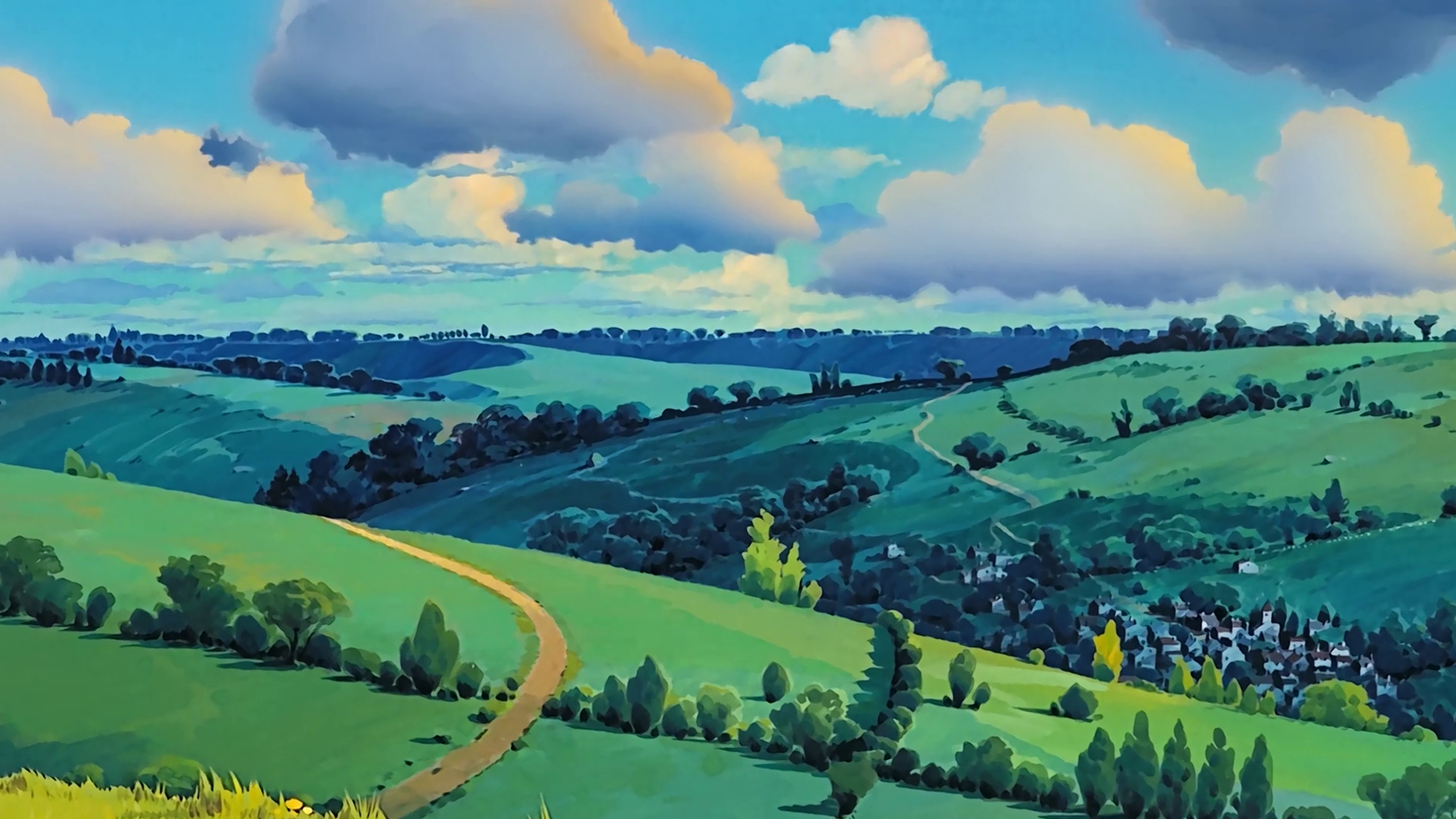 100 Studio Ghibli Wallpapers Imgur Studio Ghibli Background Anime Scenery Studio Ghibli
