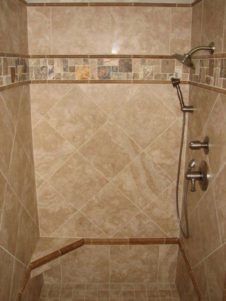 Shower Wall Tile Design ceramic tile showers ideas ceramic tile designs for showers bathroom shower tile ideas Im Thinking This For Our Master Bath Were Going To Have Small Bathroom Tilesbathroom Shower Designsdesign