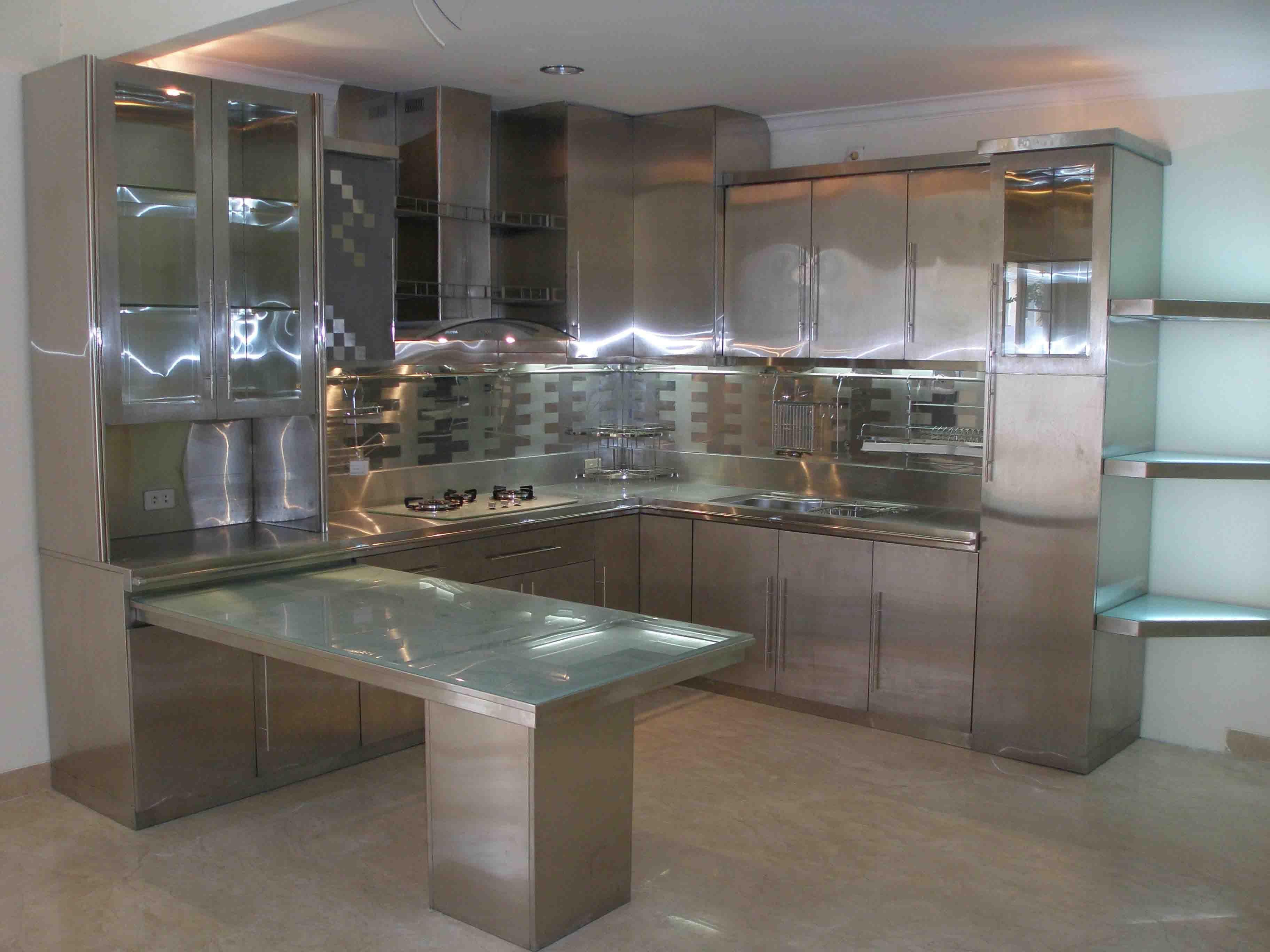 Steel Kitchen Pesquisa Do Google Cocinas Pequenas Cocinas Cocinetas