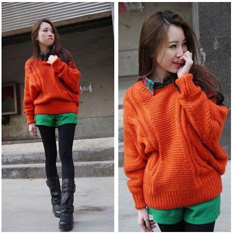 I love big sweaters