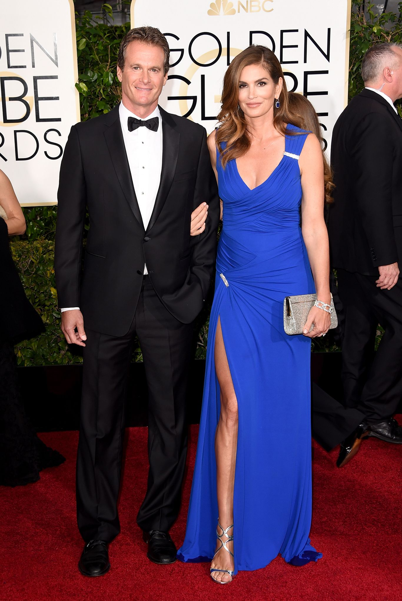 WOW! Cindy Crawford, in Versace @the 2015 Golden Globe Awards