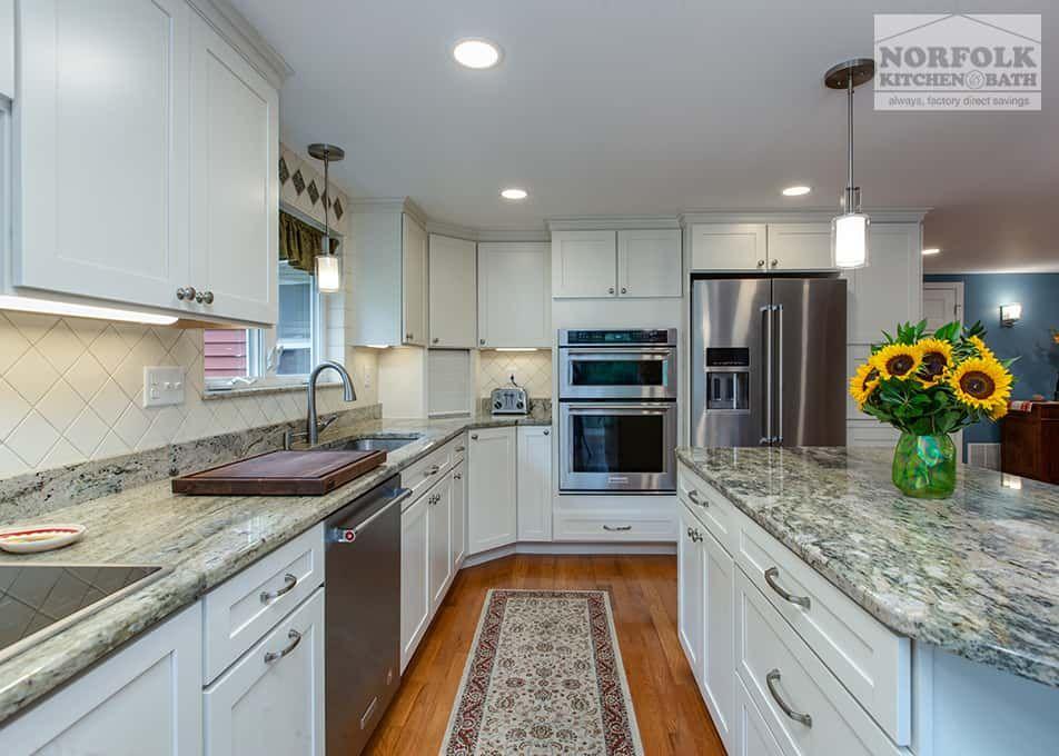 White Kitchen With Granite Countertops Granite Countertops Kitchen White Granite Kitchen Granite Kitchen