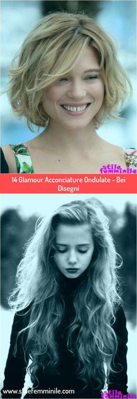 Photo of 14 Glamour Acconciature Ondulate – Bei Disegni
