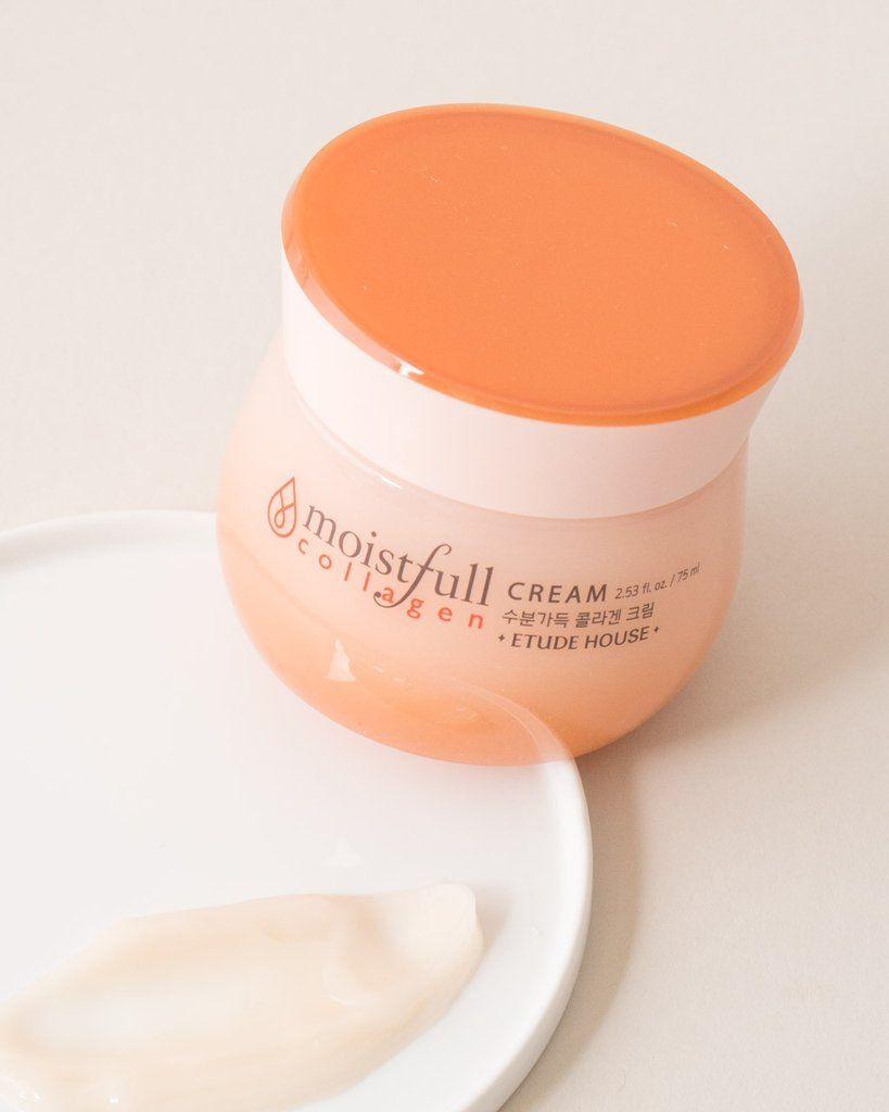 Etude House Moistfull Collagen Cream Skin Care For Dry Skin Moistfull Collagen Collagen Cream Etude House Moistfull Collagen